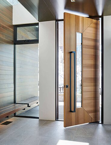 Main Entrance Wooden Door Design for House